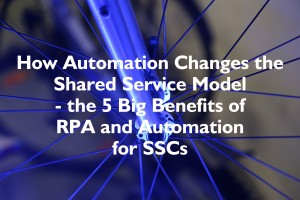 RPA and AI in Shared Services