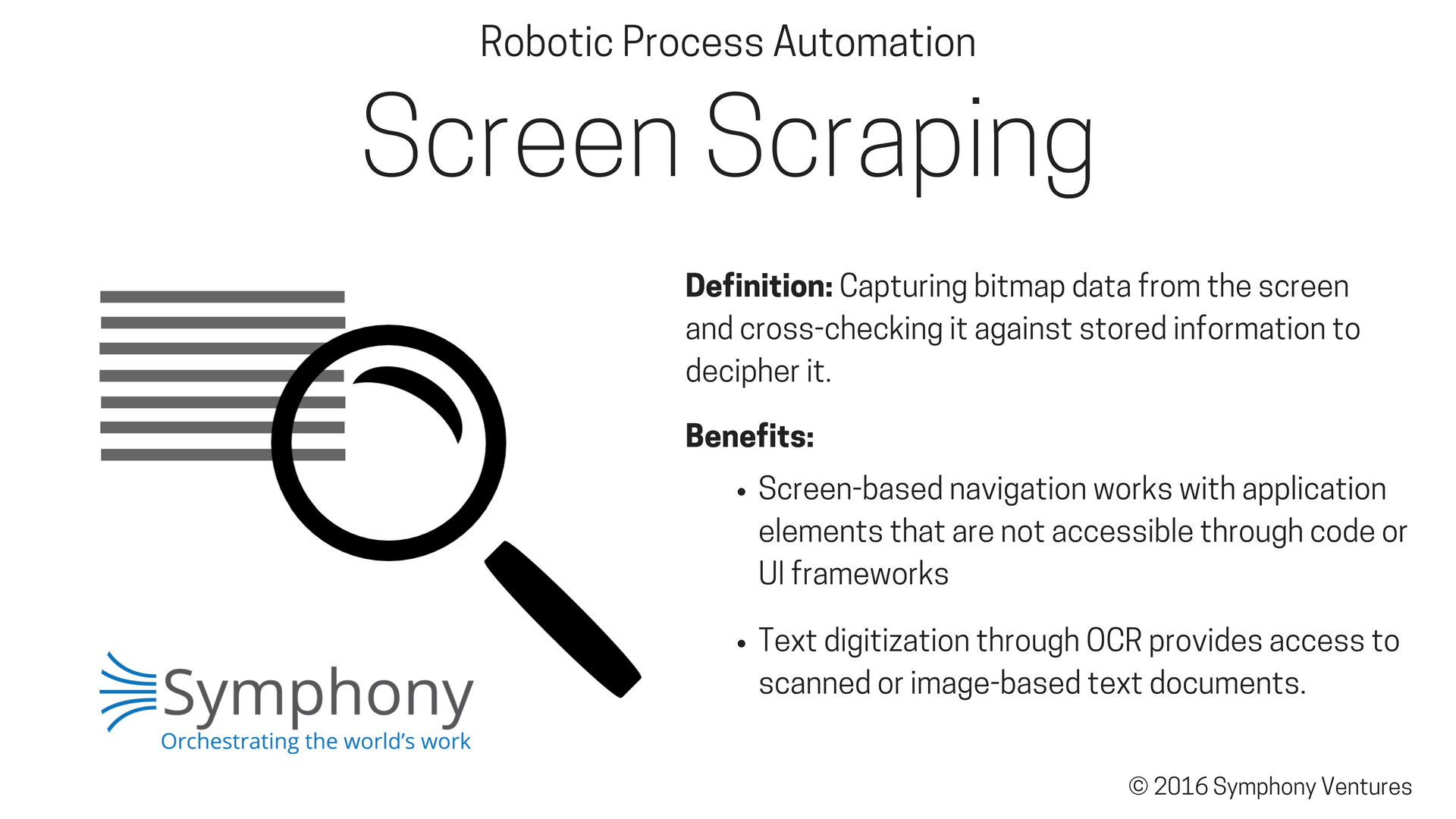 Screen Scraping in RPA