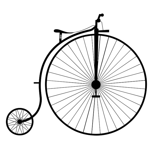 A Penny Farthing