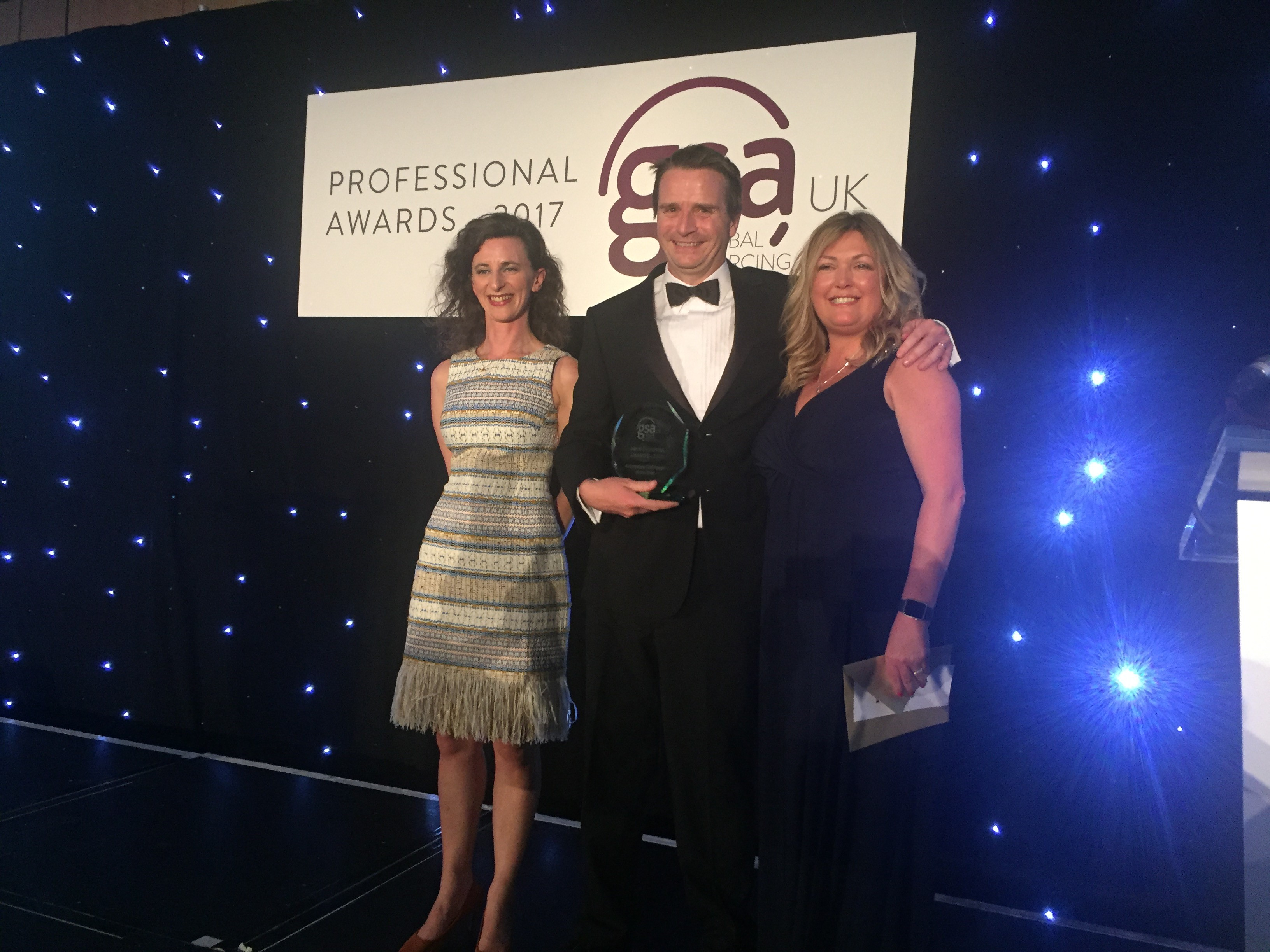 Pascal Baker at GSA Professional Awards