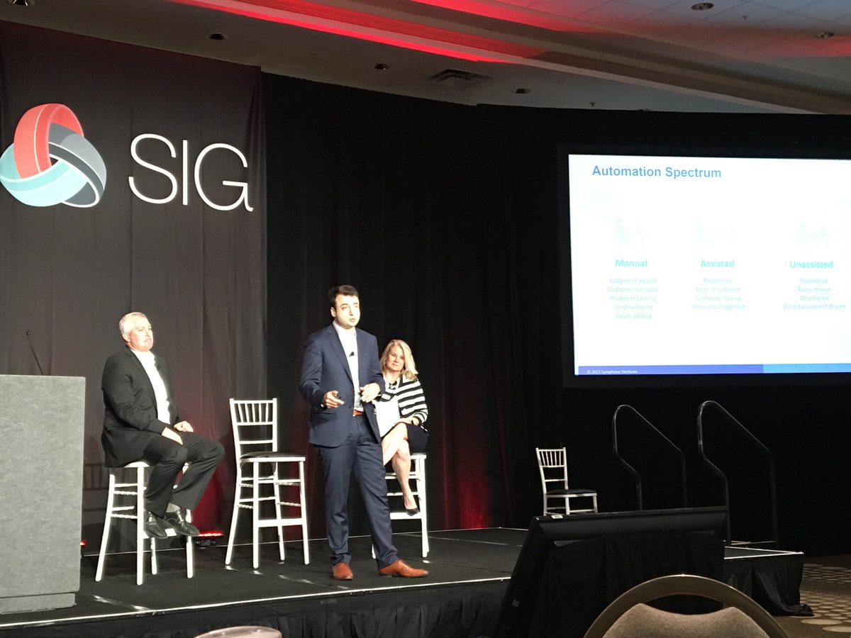 David Brain Answering Q&A at SIG Summit