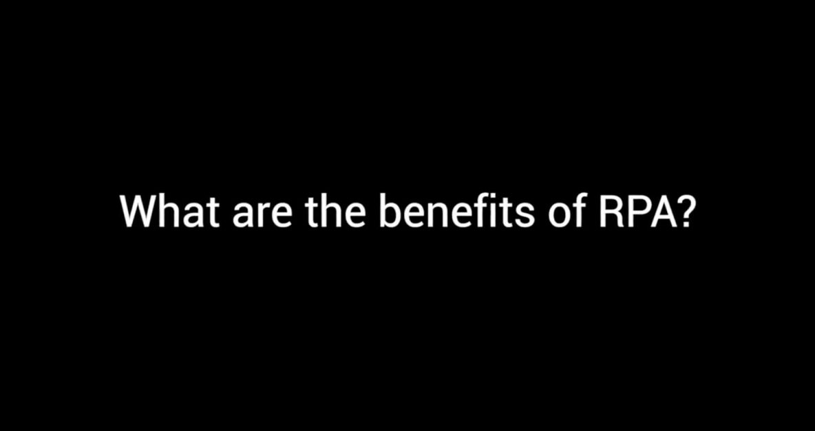 Symphony TV - What are the Benefits of RPA