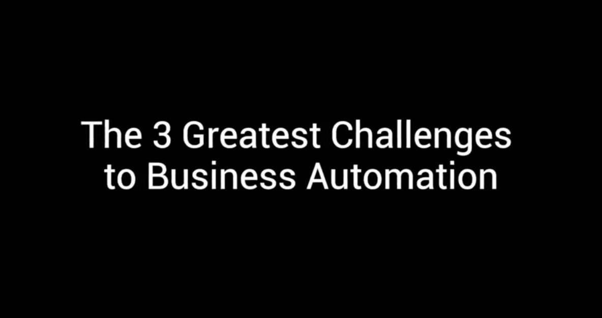 Symphony TV - The 3 greatest Challenges of RPA